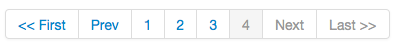 Yii Pagination using Twitter Bootstrap